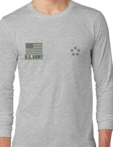 General of the Army Infantry US Army Rank Desert by Mision Militar ™ Long Sleeve T-Shirt