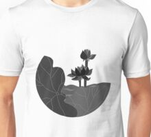 Single Colored Lotus Unisex T-Shirt