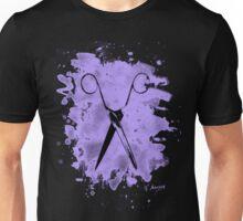 Scissors - bleached violet Unisex T-Shirt