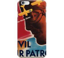 Vintage poster - Civil Air Patrol iPhone Case/Skin