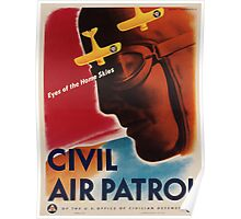 Vintage poster - Civil Air Patrol Poster