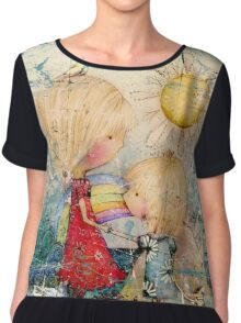 sun and sea Women's Chiffon Top