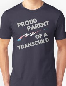 Proud Trans child Parent T-Shirt