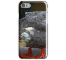 Black White and Gray Duck iPhone Case/Skin