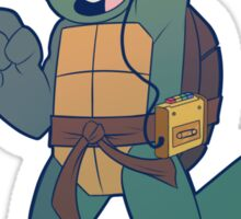 Turtle Tot Mikey Sticker