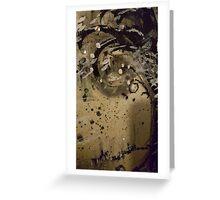 Burnt Wood Greeting Card