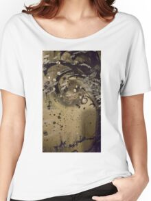 Burnt Wood Women's Relaxed Fit T-Shirt