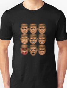 Doom faces Unisex T-Shirt