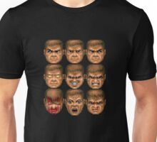 Doom faces Unisex T-Shirt