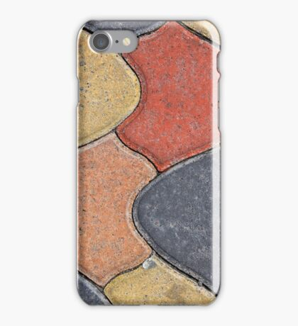 Painted Concrete Bricks iPhone Case/Skin