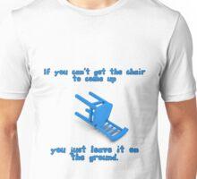 alantutorial - the blue chair Unisex T-Shirt