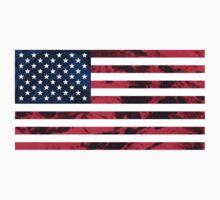 USA Flag Baby Tee