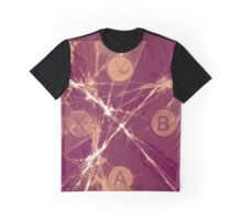 XBox Controller  Plum Graphic T-Shirt