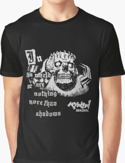 JAPAN ANIME BERSERK SKULL KNIGHT GUTS  Graphic T-Shirt