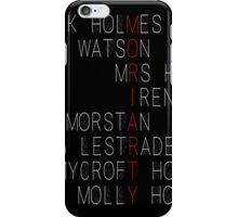 MORIARTY (Sherlock Characters) iPhone Case/Skin
