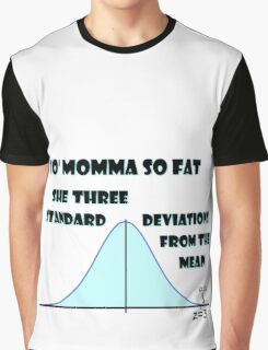 Statistical Diss Graphic T-Shirt