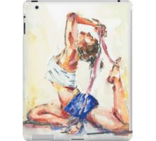 Yoga Watercolor  iPad Case/Skin