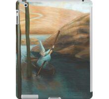 In his Boat iPad Case/Skin