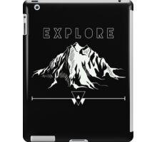 Explore Mountains iPad Case/Skin