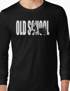 Old School Strength (Deadlift Iconic) Long Sleeve T-Shirt