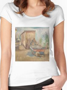 The Sea Tern Women's Fitted Scoop T-Shirt