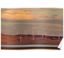 Lake George Turbines Poster