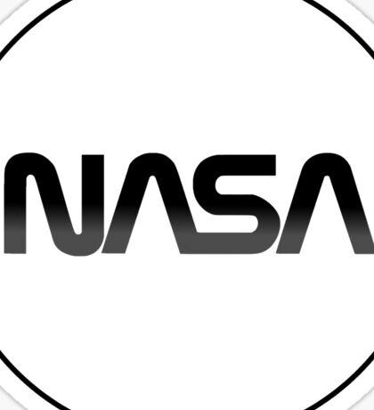 Modernized Nasa Log Sticker