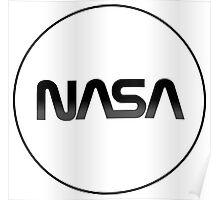 Modernized Nasa Log Poster