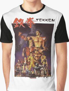 Tekken 1 King of Iron Fist Graphic T-Shirt