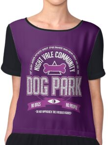 Night Vale Community Dog Park Chiffon Top
