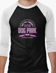 Night Vale Community Dog Park Men's Baseball ¾ T-Shirt