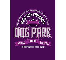 Night Vale Community Dog Park Photographic Print