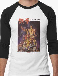 Tekken 1 King of Iron Fist Men's Baseball ¾ T-Shirt