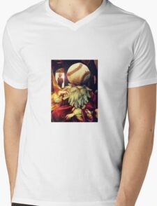 First Strike (Collaboration with Andy Nawroski)  Mens V-Neck T-Shirt