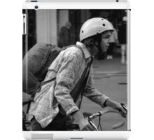 The Passing Cyclist iPad Case/Skin
