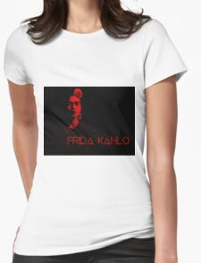 Frida Kahlo (Ver 6) Womens Fitted T-Shirt