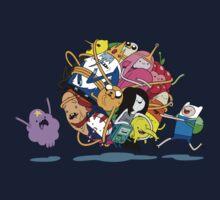 It's Adventure Time !! Kids Tee
