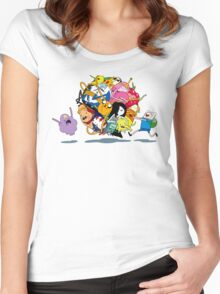 It's Adventure Time !! Women's Fitted Scoop T-Shirt