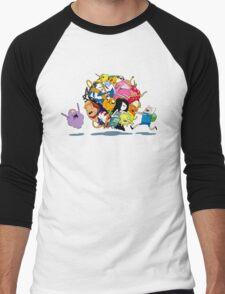 It's Adventure Time !! Men's Baseball ¾ T-Shirt