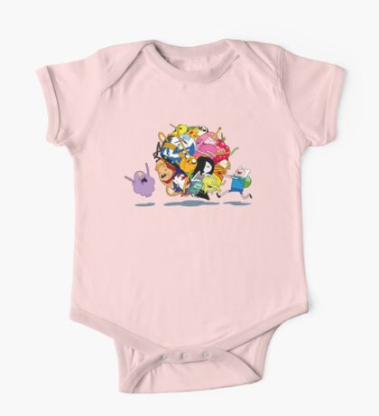 It's Adventure Time !! One Piece - Short Sleeve