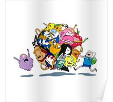 It's Adventure Time !! Poster