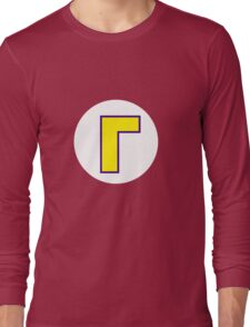 Waluigi Symbol Long Sleeve T-Shirt