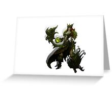 Slither HON Game Greeting Card