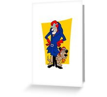 Dastardly & Muttley Greeting Card
