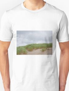Sand Dunes and Grass Unisex T-Shirt