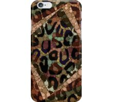 Earth Tone Cheetah Abstract Pattern  iPhone Case/Skin