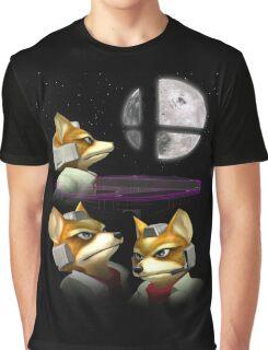 20XX: Three Fox Moon Graphic T-Shirt