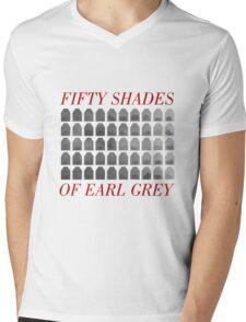 50 Shades of Earl Gray Mens V-Neck T-Shirt