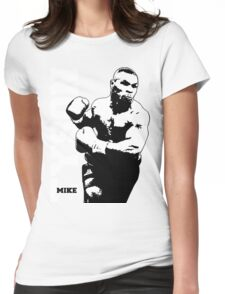 MIKE TYSON Prepare for Hit Womens Fitted T-Shirt
