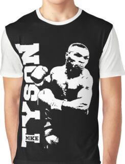 MIKE TYSON Prepare for Hit Graphic T-Shirt